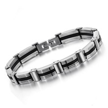Effie Queen  Top Quality Men's Bracelet,316L Stainless Steel Bracelet,Best Gift For Men Free Shipping Jewelry Supplier WTB05