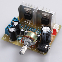 DIY Dual Channel TDA2030A Power Amplifier Board DIY Kit for Arduino Electronic Production Training Suite