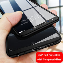 for VIVO X21 X6 X7 X9 X9s X20 Plus Case Glass Cover OPPO V3 MAX V5 V7 Y51 Y53  Y55 Y66 Y67 Y69 Y75 Y79 Y85 360 Tempered Glass 58b5440d5e67