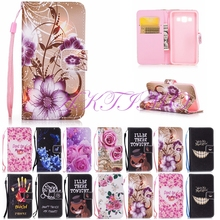 Case For Samsung Galaxy A3 2015 Coloured Drawing TPU Soft Phone Cover For Samsung Galaxy A3 A3000 Phone Cases Rose Love Flower
