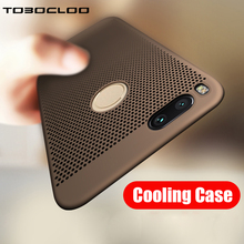 Tobocloo Breathing Phone Case For XiaoMi Mi A1 Mi5 Mi5s Plus Mi 6 Mi5X Mi 5 5s 6 6Plus MiA1 X Ultra-thin Cooling Hard Full Case(China)
