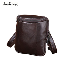 Wallet Bag Men Pocket Real Genuine Leather Cowhide Casual Business Messenger Shoulder Crossbody Vintage Man Bolsas Male Handbag