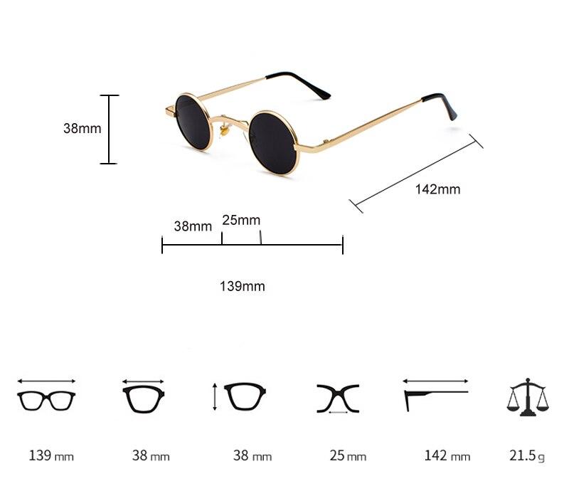 mini sunglasses round 6022 details (1)