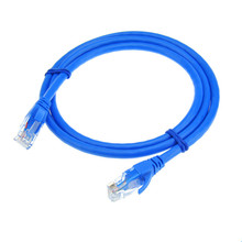 Ethernet Cables CAT6 Six Gigabit Computer Network Internet Lines Double Shielded Stable Network For Computer Blue Color 1m - 30m