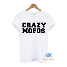 CRAZY MOFOS T-shirt NIALL 1D ONE DIRECTION Fashion Funny Harry Styles Summer Camisetas Tees Tops Shirt For Women Men Euro Size