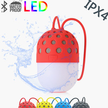 Firefly Colorful LED Light Bluetooth Speaker Portable Creative Waterproof Mini Speakers For Mobile Phone Laptop PC(China)