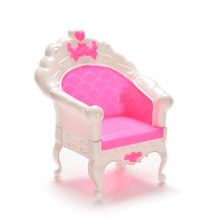 HOT Lovely Single Seat Sofa Toy Dollhouse Furniture MINI Vintage Living Room Parlour Sofa Chair Miniature House Doll Accessories(China)