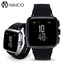 KINCO WIFI 3G 500 Million Pixels Camera Heart Rate Monitor Android 5.1 GPS Athletic Records Smart Watch for IOS/Android