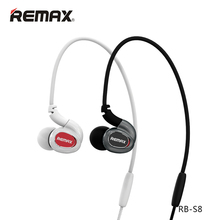 Original REMAX RB-S8 Sports Earphones Wireless Bluetooth Headset Magnetic Clasp for mobile phones,tablet,PC,Bluetooth devices