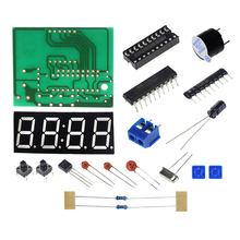 Smart Electronics  1set Digital Electronic C51 4 Bits Clock Electronic Production Suite DIY Kits Hot Selling