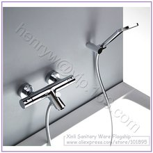 Wholesale - Luxury Thermostatic Bath & Shower Faucet,Cold & Hot Water Mixer, Temperature Control, MOQ in 8PCS/Lot, X9013BS
