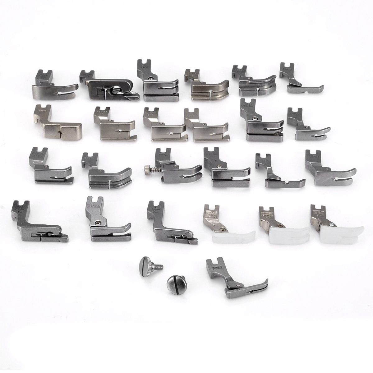 25Pcs Sewing Machine Presser Foot Set For JUKI DDL-5550 8500 8700 Industrial Sewing Machine Sewing Accessories Presser Foot