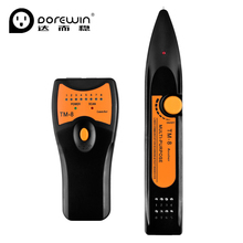 Dorewin Cat5 Cat6 RJ45 Telephone Wire Tracker Tracer Diagnose Tone Tool Kit LAN Network Cable Tester Line Finder Detector(China)