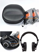 Hard Carrying Case Box & Bag Pouch Groups For Audio-Technica ATH M30, M40x, M50, M50s, M50x Headphone