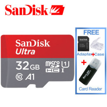 Original SanDisk Ultra micro sd card for Gopro 80mb/s class 10 32gb Memory Card 16GB Memory Cards with free TF card reader