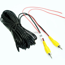 10M Car RCA Reversing Camera Video Cable With Spcial Reversing/Backup Detecting Wire  #4544