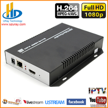 DHL Free Shipping H.264 HDMI Video Streaming Encoder /HDMI RTSP RTMP Encoder For IPTV, Live Streaming Broadcast, Media Server