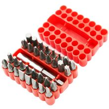 33pcs Magnetic Bit Set Screwdriver Holder Torx Hex Star Spanner Screws Security Bits Tamper Proof Torx Hex Star Screwdriver Bits