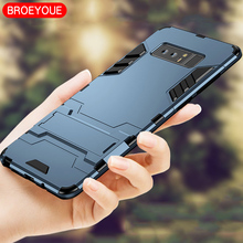 Buy BROEYOUE Case Samsung Galaxy Note 4 5 8 Cases Hybrid Rugged Armor Case Samsung Galaxy Note 8 Shockproof Phone Back Cover Co.,Ltd) for $2.26 in AliExpress store