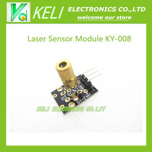 Free shipping  10pcs/lot   Laser Sensor Module For Arduino Starters Compatible KY-008   new original