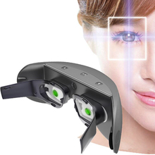 Optics 3D Eye Massager Restore Myopia Glasses EMS Acupressure Eye Care Head Massage Three months to restore 120 degree Vision