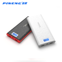 PINENG PN-920 Original New 20000mAh Portable Battery Mobile Power Bank USB Charger Li-Polymer with LED Indicator For Smartphone