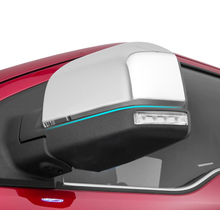 FIT FOR 2015 2016 FORD F150 F-150 CHROME SIDE MIRROR COVER TRIM REAR VIEW MOLDING CAP BEZEL LID FRAME OVERLAY GARNISH
