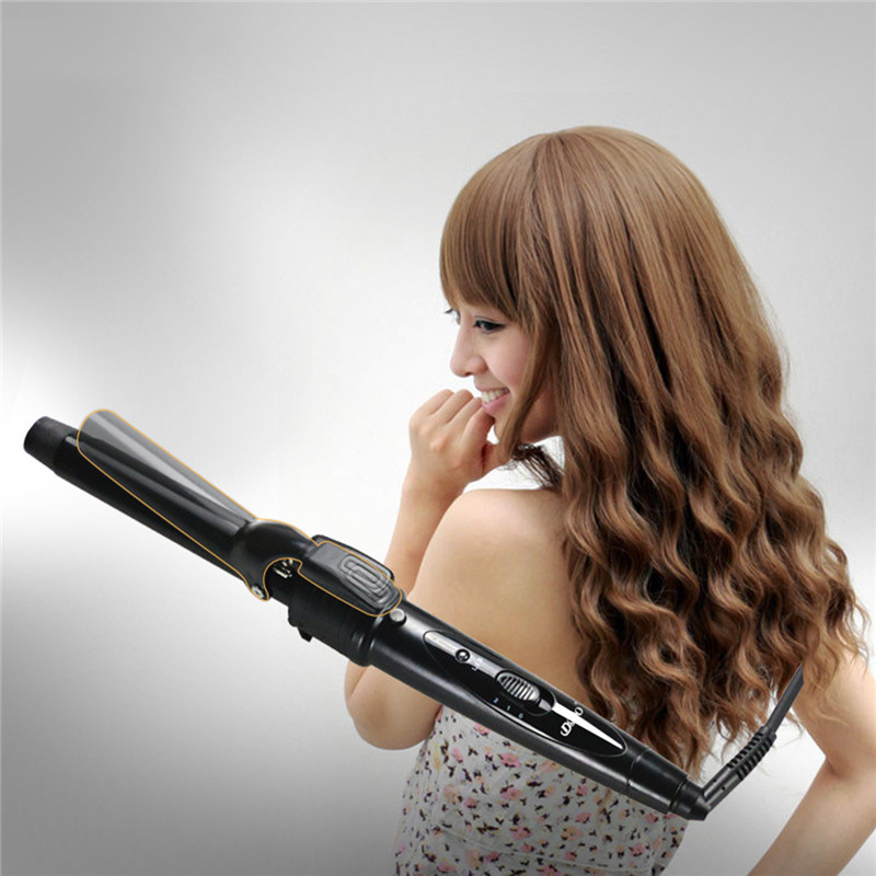 Multifunctional Professional 110-240V 5 in 1 Styling Set Hair Straighten Hair Curling Iron Hair Curler Roller Comb