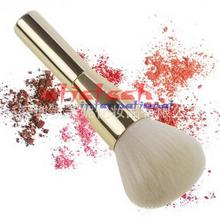 by ems or dhl 100pcs Rose Gold Powder Blush Brush Professional Large Cosmetics Makeup Brushes Foundation Make Up Tool(China)