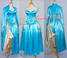 Custom made Medieval dress costume adult women gothic dress halloween costume The Story of O costume(China)