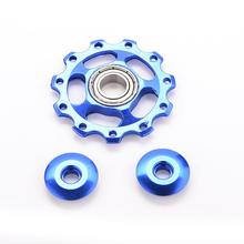 Dia 5mm 11T Aluminum Bicycle Rear Derailleur Jockey Wheel Road MTB Bike Guide Roller Idler Pulley Part Cycling Bike Accessory