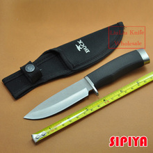 New Buck Stainless Steel 7CR17MOV 58HRC Fixed Blade Hunting Knife