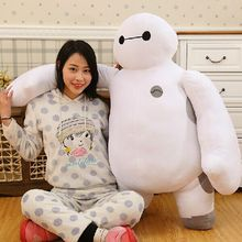 2016 100cm Large Size Cartoon Big Hero 6 Baymax Plush Dolls Robot Toy For  Giant Big Size Soft Kid Birthday Present Gift 80cm