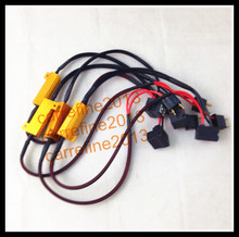 10pcs x 50W 6 ohm LED Warning Canceller wiring harness for H7 LED fog headlight H7 error free canbus Load Resistor H7 decoder