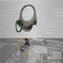 Swivel Adapter GBB Buttstock End Plate Double Loop Hook Sling stock accessories Adapter Mount forM4 AK Free Shipping(China)