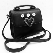 Fashion LOVE  For Women good quality PU leather snap button bag OEM, ODM QB269  (fit 18mm 20mm snaps)