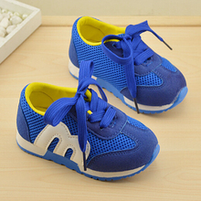 child sneaker sport tenis boys trainer girl shoes female number figure shoes baby kids boots children tenis first walker shoes(China)