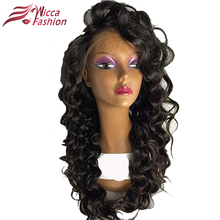 Dream Beauty Full Lace Wigs Loose Wave Human Hair with Baby Hair for Black Women 150% Density Non Remy Brazilian Hair