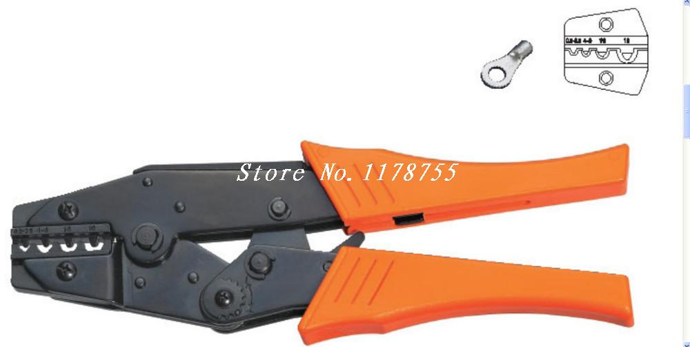 HS-1016  Non-Insulated Terminals Crimping Tool Plier Crimper 0.5-16mm2 AWG 20-8<br><br>Aliexpress