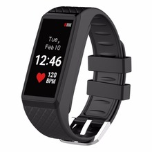 Buy INCHOR Wristfit HR Heart Rate Monitor Color OLED Touch Screen Bluetooth V4.0 Sport Smart Wristband iOS / Android Smart Phone for $34.76 in AliExpress store