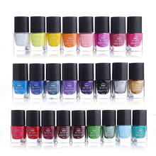 BORN PRETTY Nail Stamping Polish 6ml Colorful Printing Varnish Lacquer for Nail Art Stamping Plate 25 Colors Available