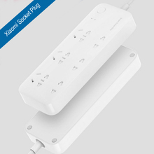 New 100% Original xiaomi six port power strip Socket Plug with wifi b/g/n phone APP remote control timer function power save