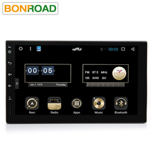 Bonroad C2L66 Android 6.0 1024*600 Car PC Tablet 2 din 2 Universal For Nissan GPS Navigation Radio Stereo Audio Player(No DVD)(China)