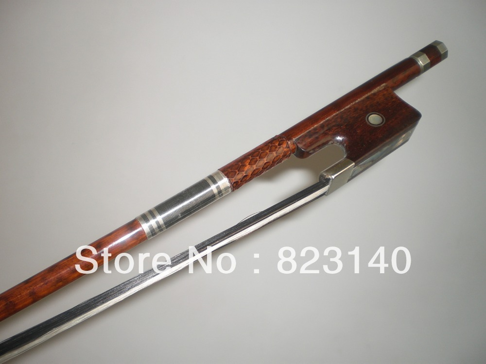 SOLD  Vintage Unstamped French Double Bass Bow