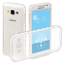 "Big discount TPU phone Case for Samsung Galaxy A3 (2014) SM-A300F (4.5"") Slim Flexible Soft  Shell Protection clear Cover"