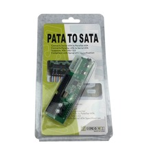 Brand New Hard Drive Serial SATA to ATA IDE PATA Card 40 Pin Converter Adapter(China)