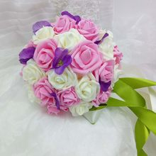 Promoo de wedding decoration bouquets roses disconto promocional promoo de wedding decoration bouquets roses disconto promocional em aliexpress alibaba group junglespirit Choice Image