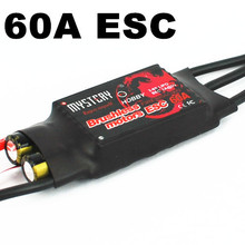Mystery Fire Dragon 60A Brushless ESC RC Speed Controller For RC helicopter Airplane(China)