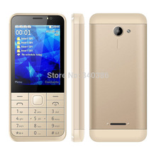 2017 4 SIM Card Phone Oeina M230 2.8Inch Small Screen Quad band GSM Bluetooth FM radio 800mAh Senior Mobile Phone(China)