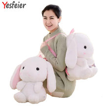 1 piece 40cm Selling Bag Plush Backpack cartoon rabbit Knapsack , Backpack For Kids Low Price Kawaii Toy Free Shipping